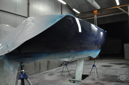DREAM RACER BOATS Coating-Paint-Figaro-500x332 The last Race ! Convert Figaro 2 to Cruise or Race Project News