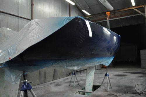 DREAM RACER BOATS PeintureFigaro1-500x332 La der des ders ! Convertir le Figaro 2 en Croisière ou projet Course Actualités