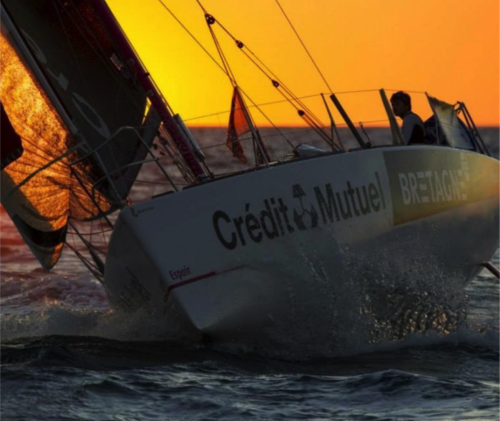 DREAM RACER BOATS sunset-500x421 Incredible performance : Sébastien Simon on the highest step ! News