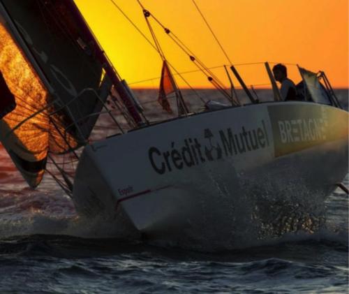 DREAM RACER BOATS sunset-500x421 Une victoire incroyable : Sébastien Simon sur la plus haute marche ! Actualités