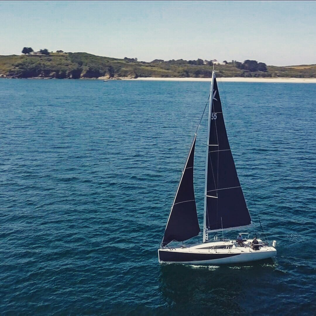 DREAM RACER BOATS Sailing-Yacht-Groix-Island-Skyview-DreamRacerBoats NEW: The DRB Interior Layout Center News