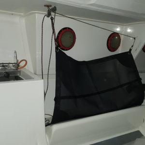 Toile de matossage pour bateau