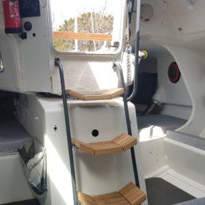 Agencement intérieur Figaro 2 Refit Dream Racer Boats