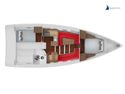 DREAM RACER BOATS Akilaria-avant-refit-plan-Cabinet-Lombard-image-de-synthèse-©-Dream-Racer-Boats Class 40 : croisière et performance A la une Actualités