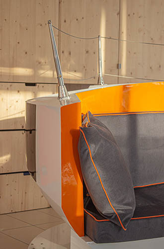 DREAM RACER BOATS linen-fibre-ecologically-responsible New product: « Ottoman Iodé » seating Featured News