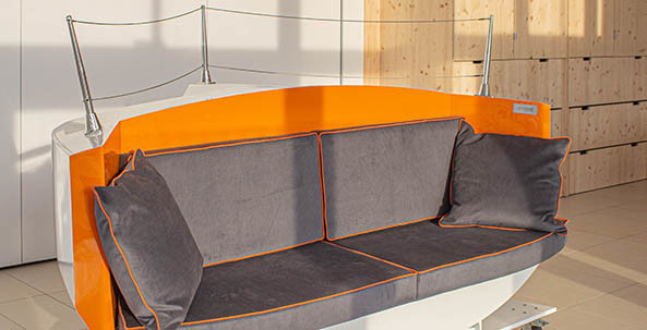 DREAM RACER BOATS seating-ottoman-iodé-boat New product: « Ottoman Iodé » seating Featured News