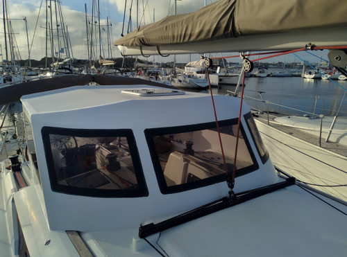 DREAM RACER BOATS sun-bridge Remote work: the manufacture of a roof Featured News