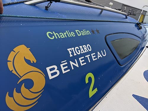 DREAM RACER BOATS Charlie-Dalin-skipper Creation of equipments for Figaro 2 Featured News