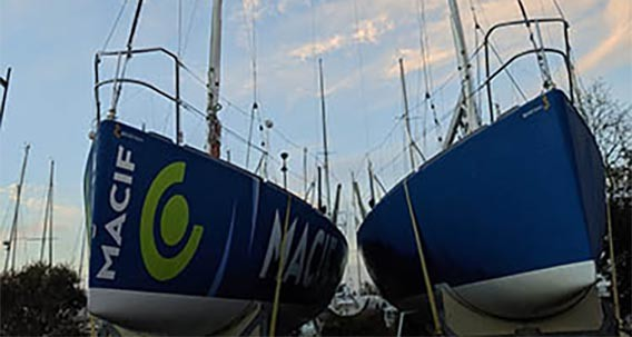 DREAM RACER BOATS Figaro-2-Beneteau-MACIF-1 Creation of equipments for Figaro 2 Featured News