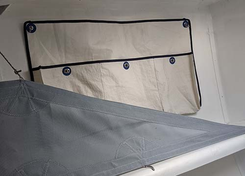 DREAM RACER BOATS compartments-textile-furniture Refit of Figaro 2, Chou fleur Non classé