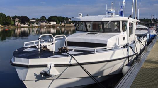DREAM RACER BOATS aluminum-boat-charter-kheops-les-glénans-island Launch of the first Rover 12 : Fleur de Sel Featured News